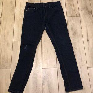 Good condition dark wash skinny 33x33 Jeans BR